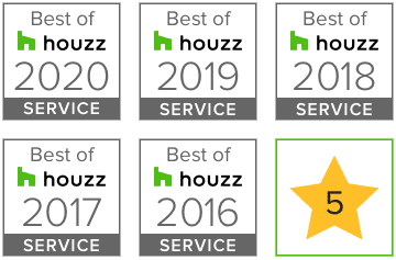 badge best service Houzz