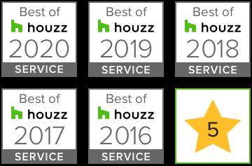badge best service Houzz